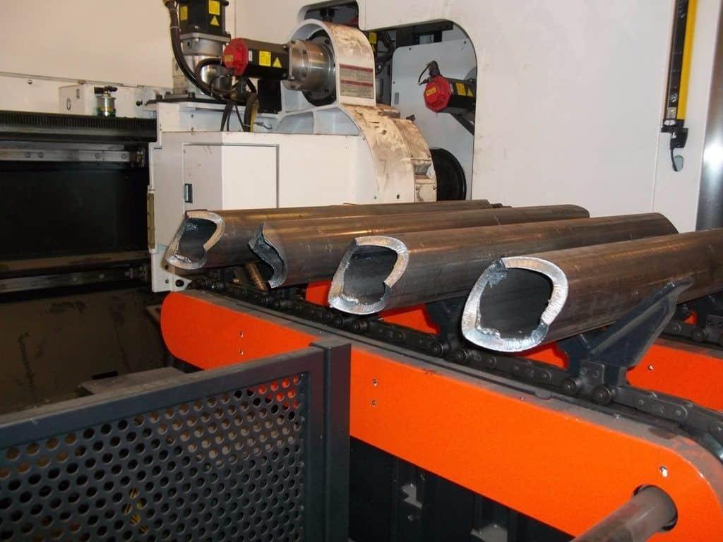 taglio laser tubi 3D - laser tube