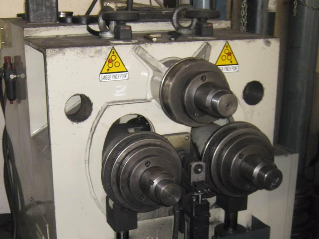curva profilati con CNC