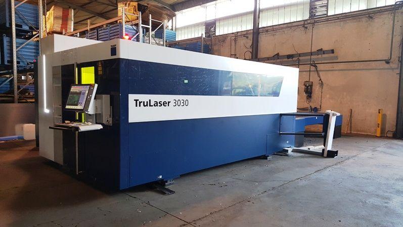 Nuovo impianto taglio laser lamiera